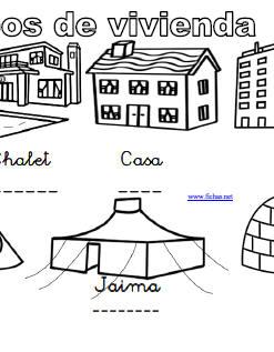 diferentes tipos de fichas: